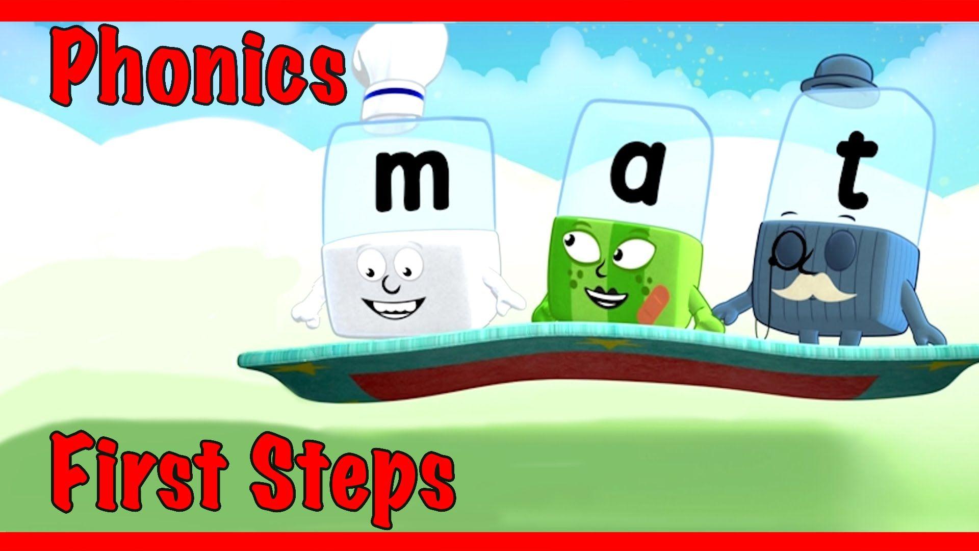"Alphablocks Word Magic ""MAT"" (Red Learning Level 1"