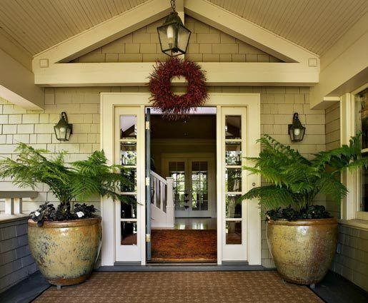 The New Front Door, Entry And Porch Look Original To The Seattle Craftsman  Home, But In Fact Were Added 10 Years Ago By Architect Mark Anderson In The  First ...