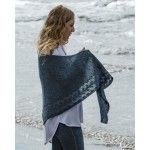 The Fibre Co Irish Sea Shawl Kit #irishsea