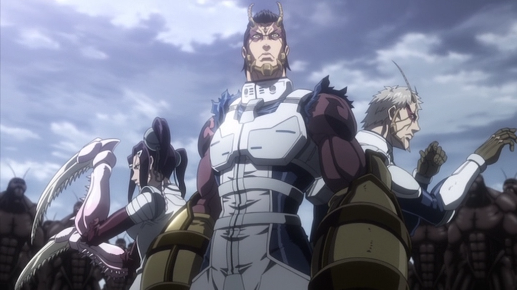 20 Best Scifi Anime Series Of All Time Terra formars