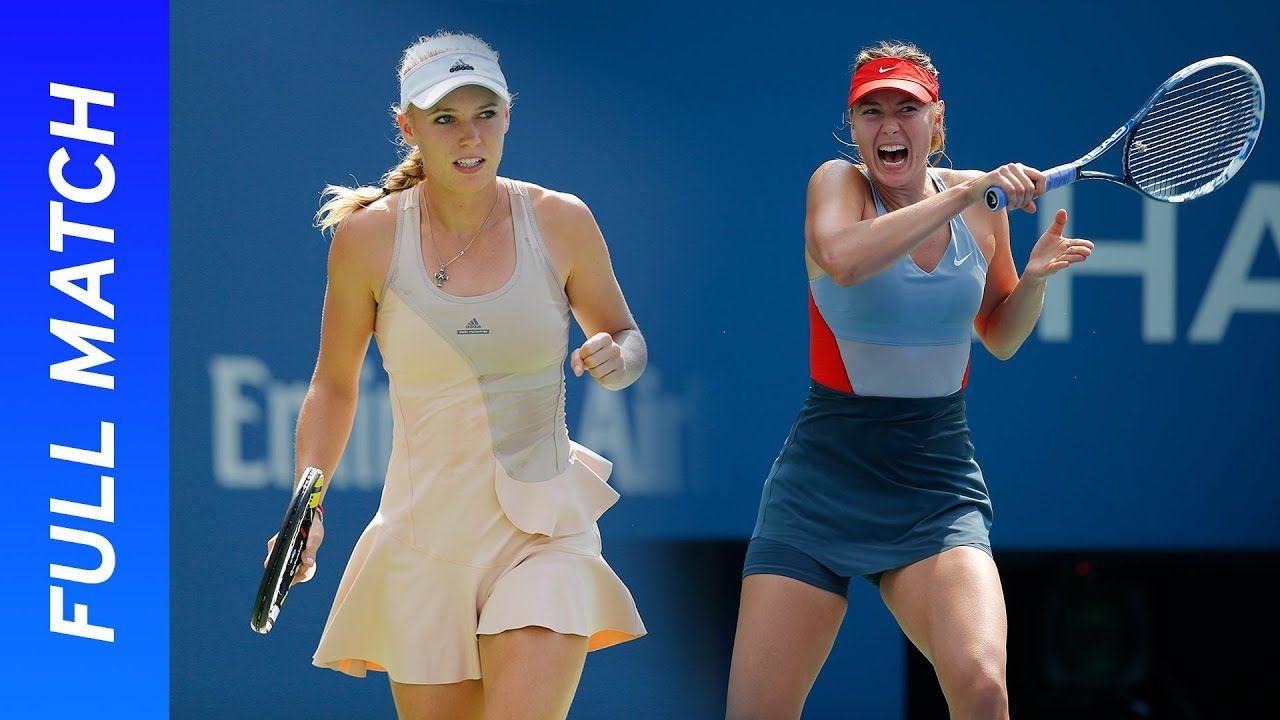 Maria Sharapova Vs Caroline Wozniacki Full Match Us Open 2014 Fourth R In 2020 Caroline Wozniacki Maria Sharapova Full Match