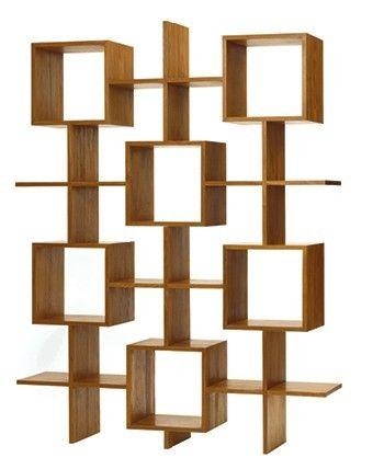 Enam Vertikal book case