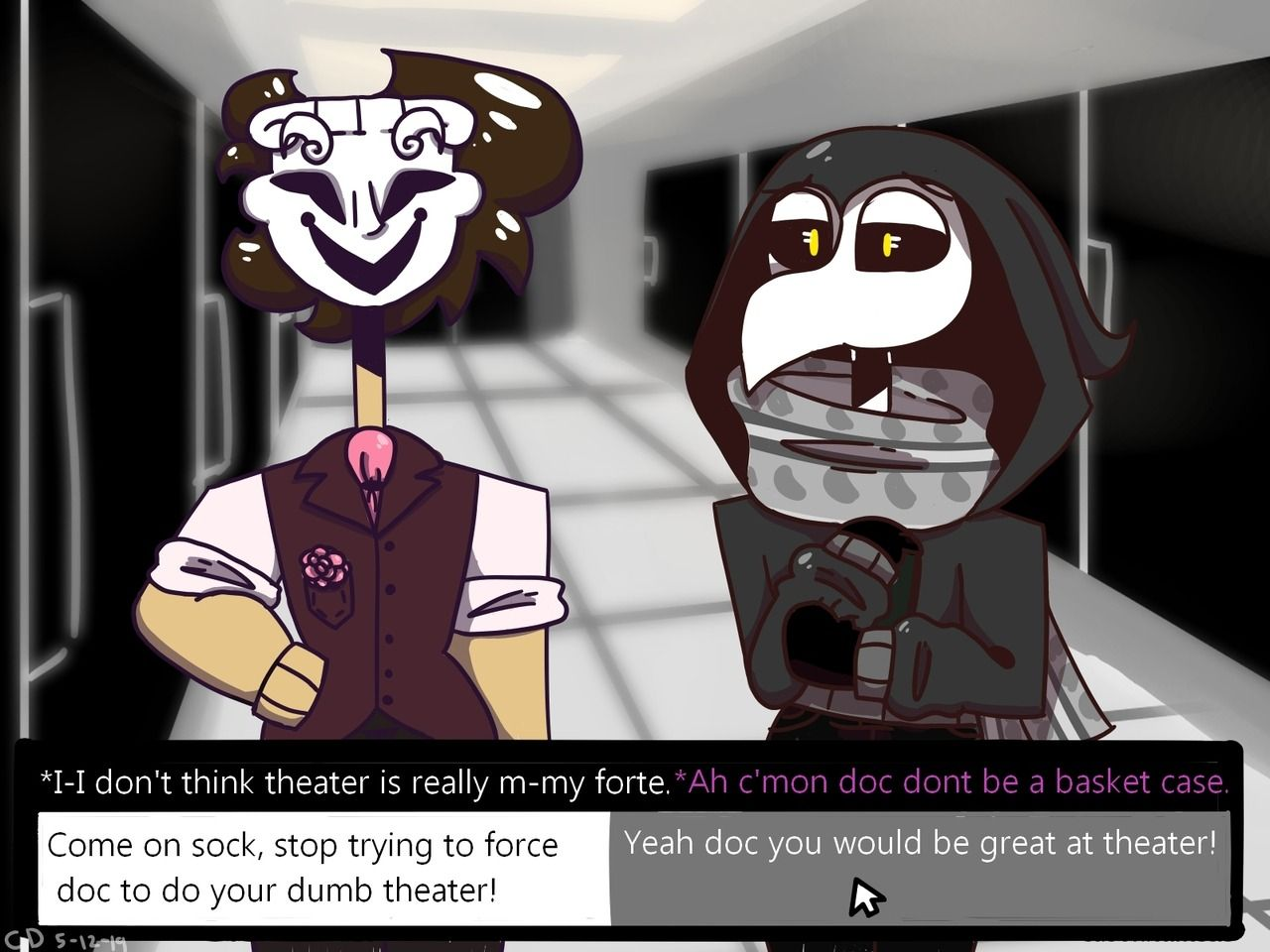 Did ya guys want an scp dating sim? no? well to bad I made