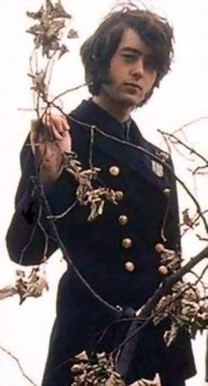 Jimmy Page of the Yardbirds.  #TheYardbirds