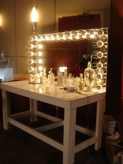 Large White Make Up Mirror Miami Prop Rental For My Girl