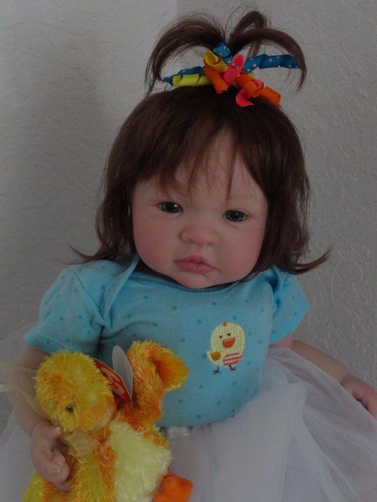 "Reborn 19"" infant baby girl doll ""Shyann"" now ""Baby ""Shaylyn"" #BountifulBabyKinderlandDolls"