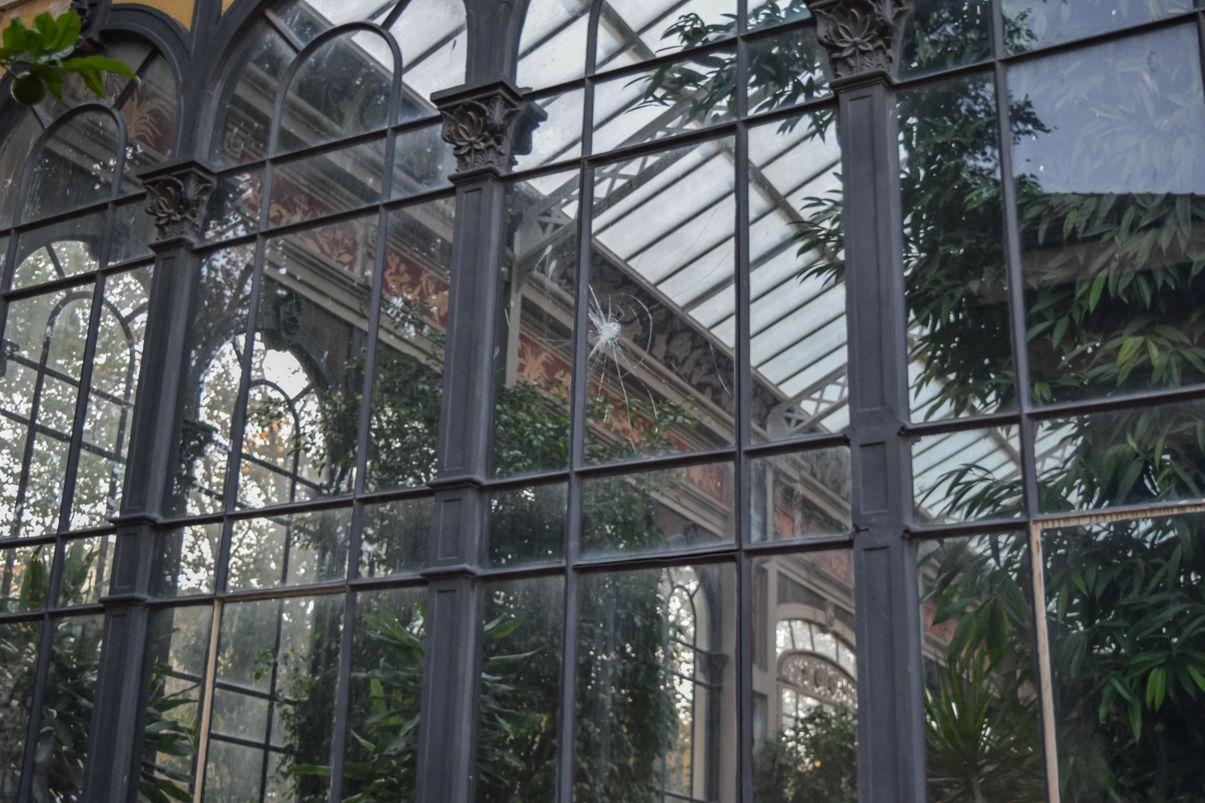 The greenhouse of the Ciutadella parc
