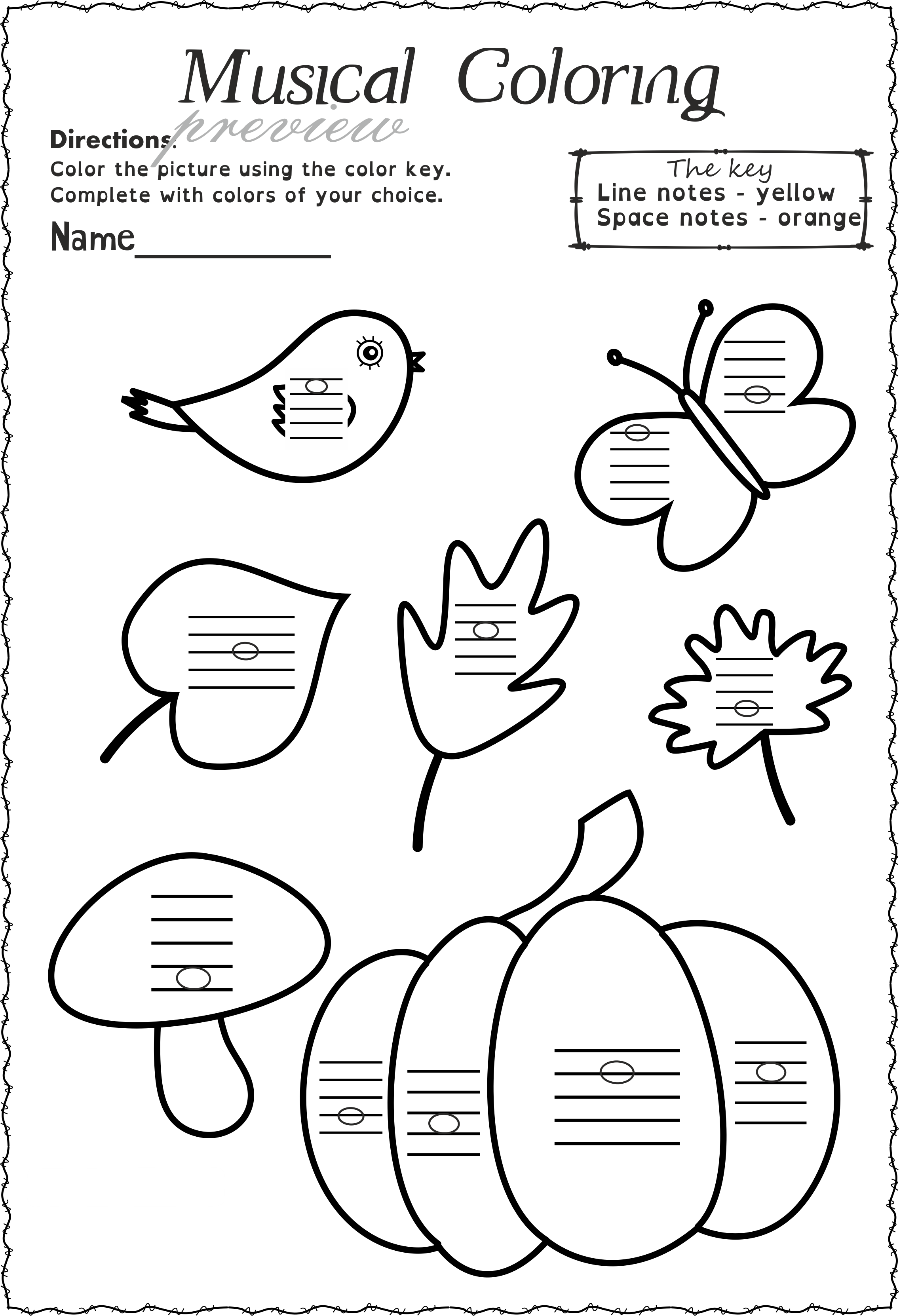 Fall Staff Worksheets Bundle