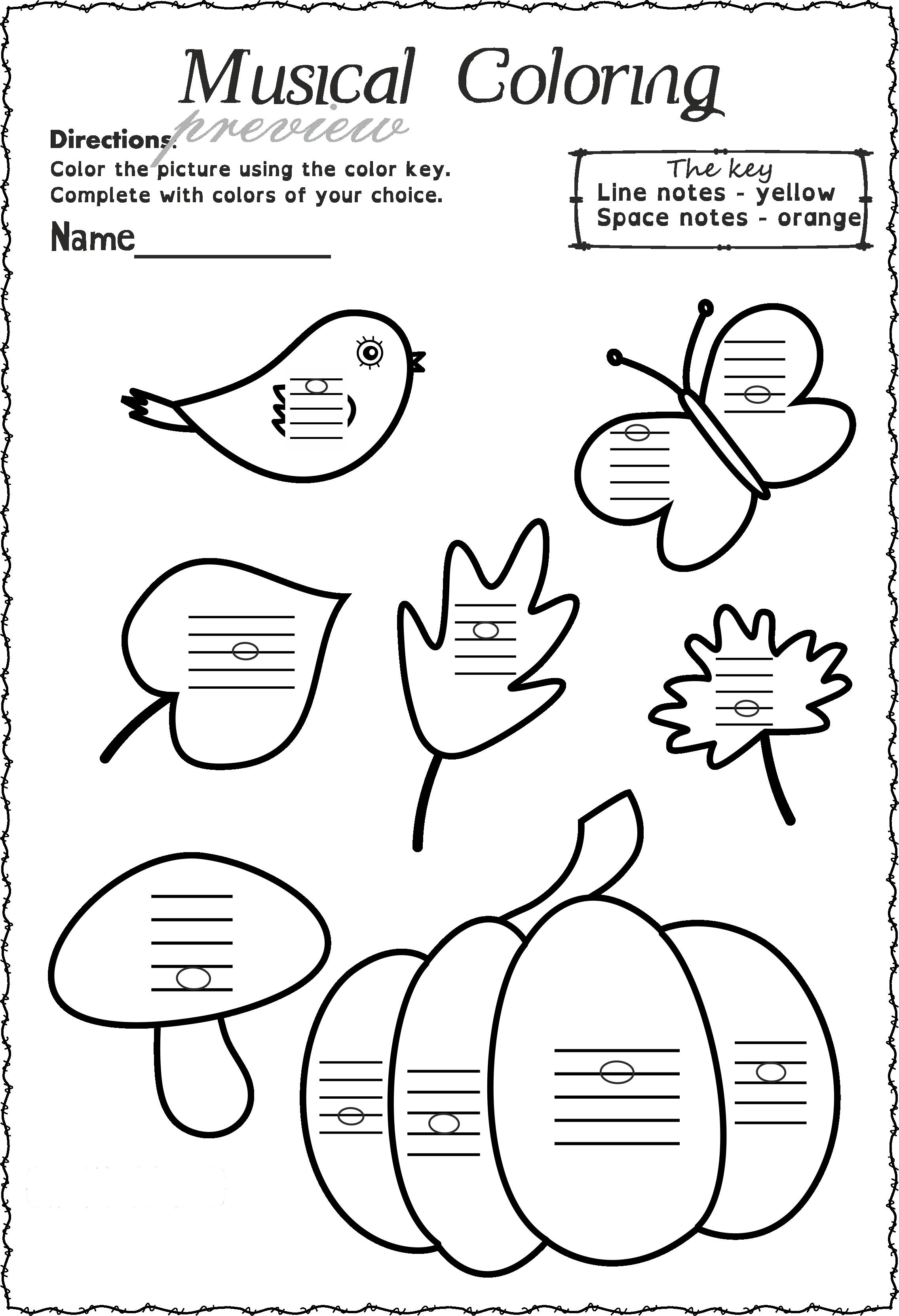 Fall Staff Worksheets Bundle