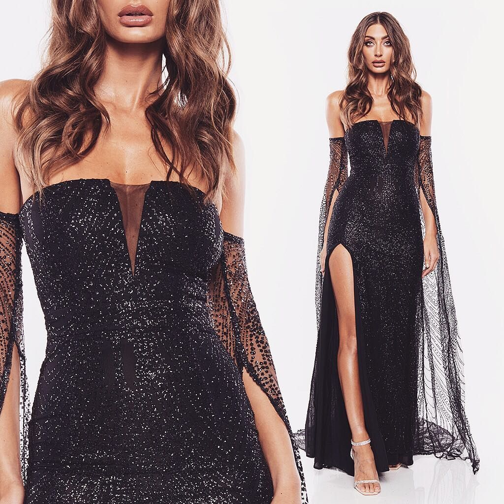 Your Favourite Gown Is Here In Black 🖤 Steal The Show