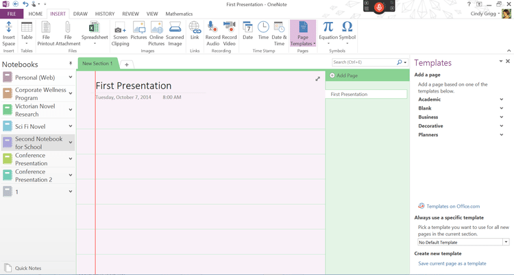 Having Trouble Finding Onenote Templates Check Out These