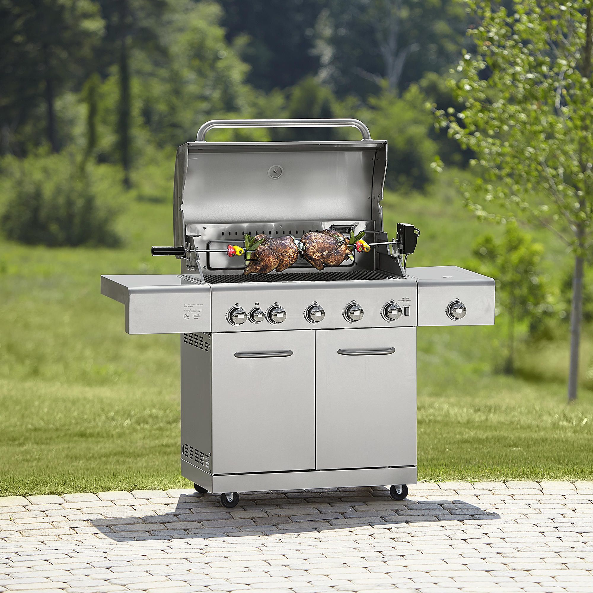 www.sears.com/kenmore-5-burner-stainless-steel-gas-grill ...