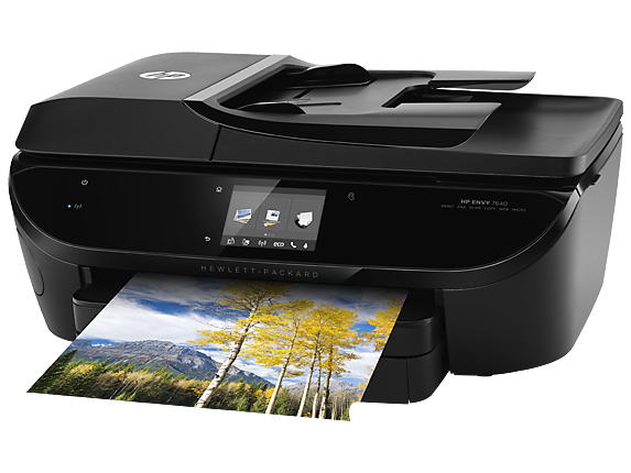 Hp Envy 7640 E All In One Printer Hp Official Store Wireless Printer Photo Printer Printer