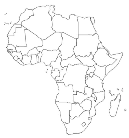 Blank Map Of East Africa | Jackenjuul