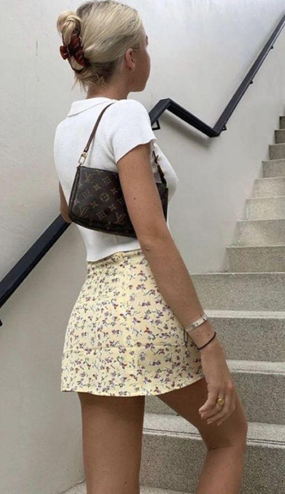 10 tenues avec des minijupes qui vous feront paraître jolie sans avoir l'air vulgaire   – Outfits con falda