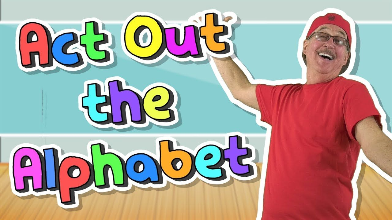 Act Out The Alphabet Jack Hartmann Abc song video