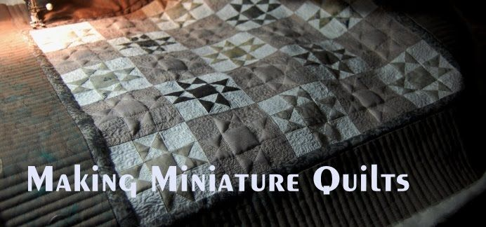 Making Miniature Quilts Dollhouse Bedroom Pinterest