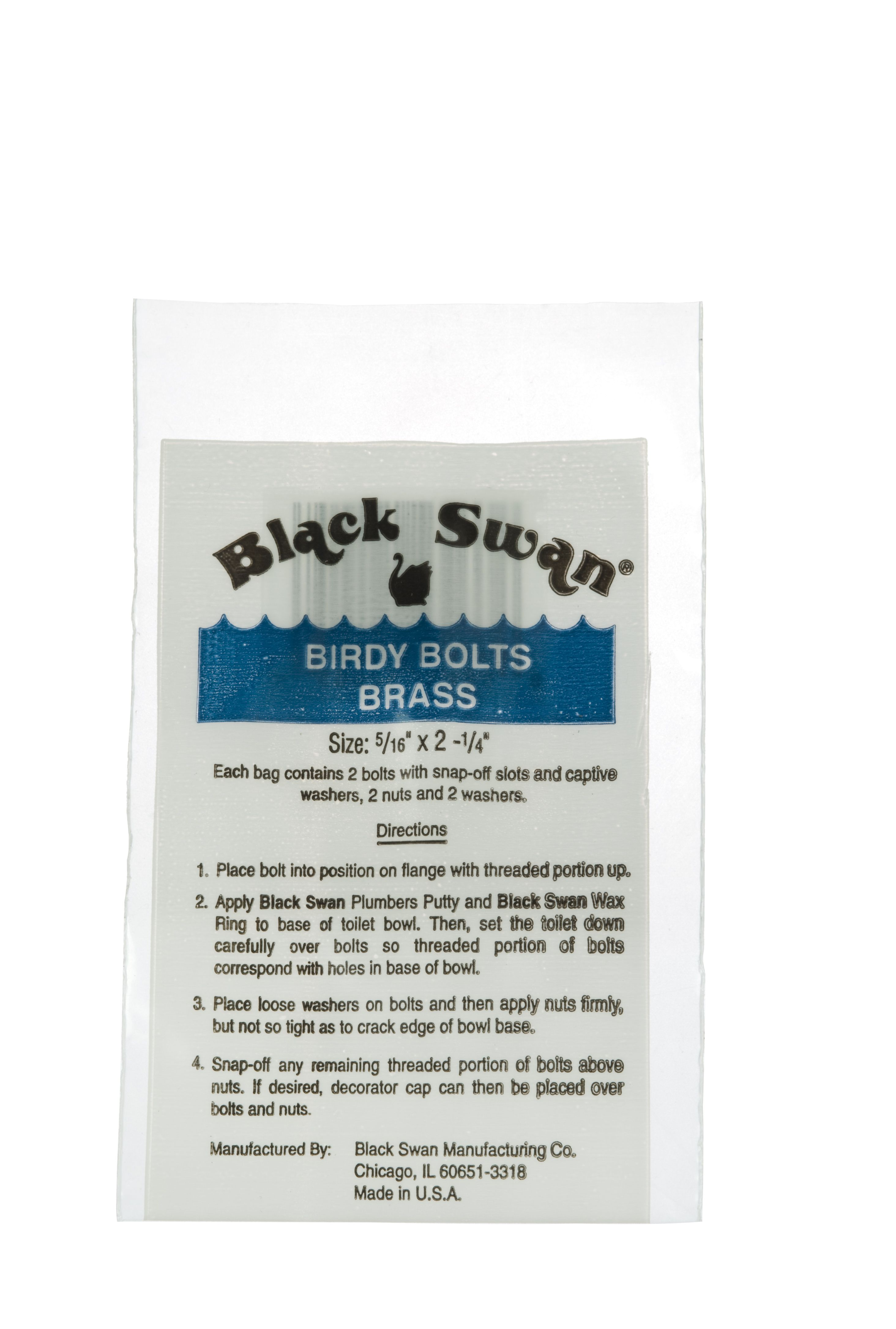 Black Swan Brass Birdy Bolts Are Specially Designed Closet Bolt Designed To Make Installation Of Toilet Bowls Easy Each B Black Swan Toilet Bowl Toilet Bowls
