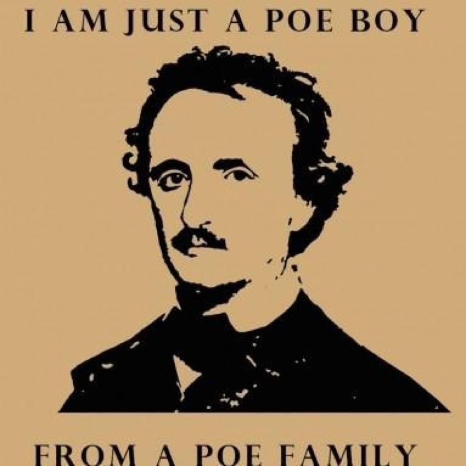 An Edgar Allan Poe-Queen mash-up. We can all quit the internet now.