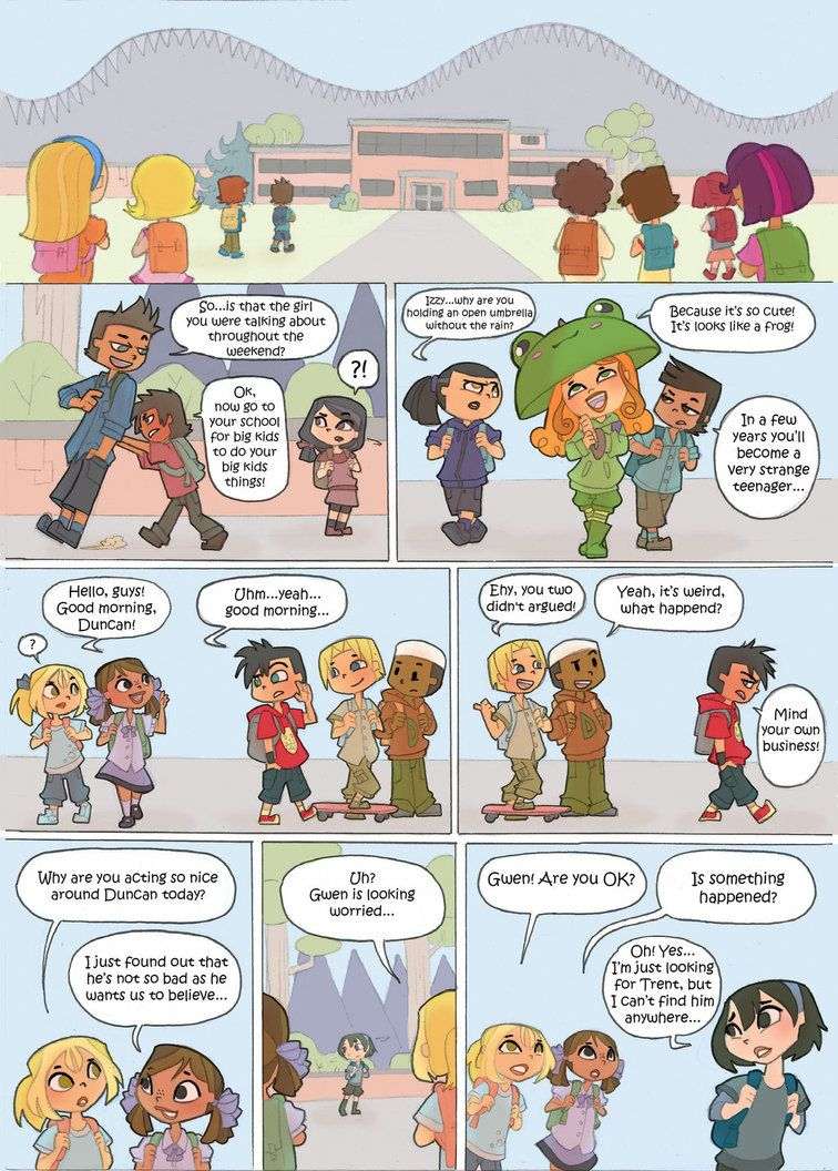 Total Drama Kids Comic Pag 31 By Kikaigaku On Deviantart