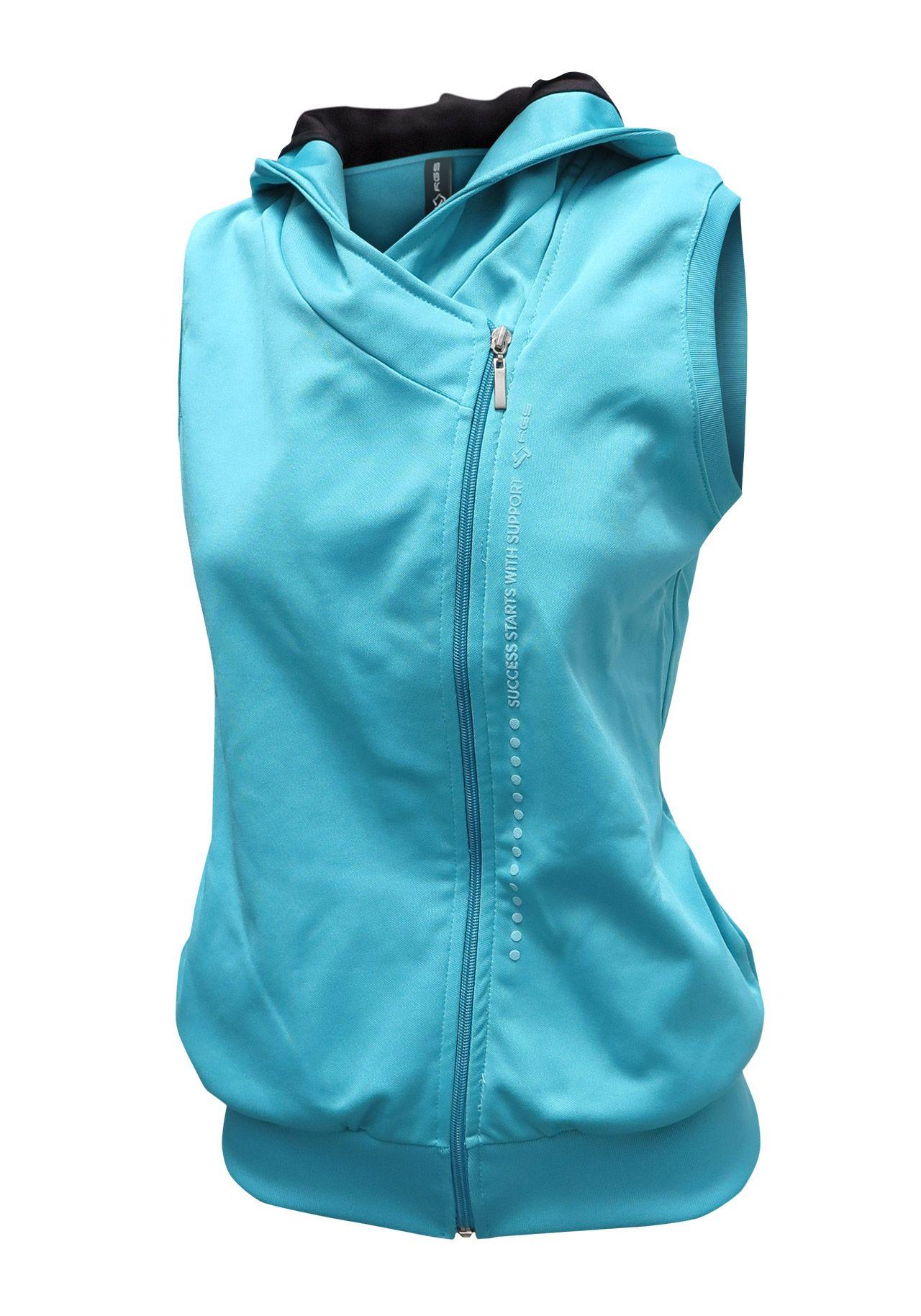 R16514 - Chaleco deportivo mujer cruzado -  sportwear Indumentaria Deportiva 29012b72e0578