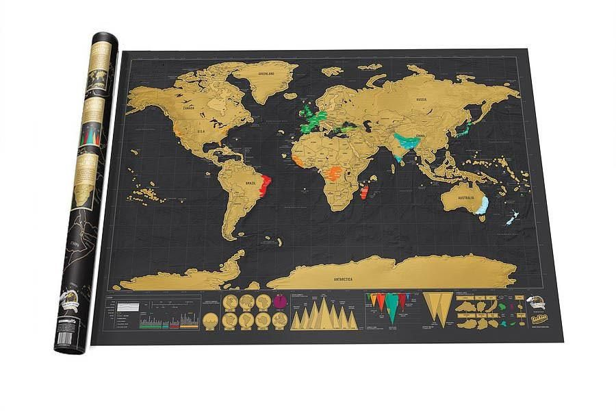 Deluxe scratch world map worldmap and products deluxe scratch world map gumiabroncs