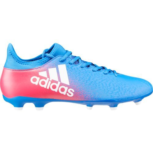 Adidas Boys' X FG Soccer Cleats (Blue/Footwear White/Shock Pink, Size -  Youth Soccer Shoes at Academy Sports