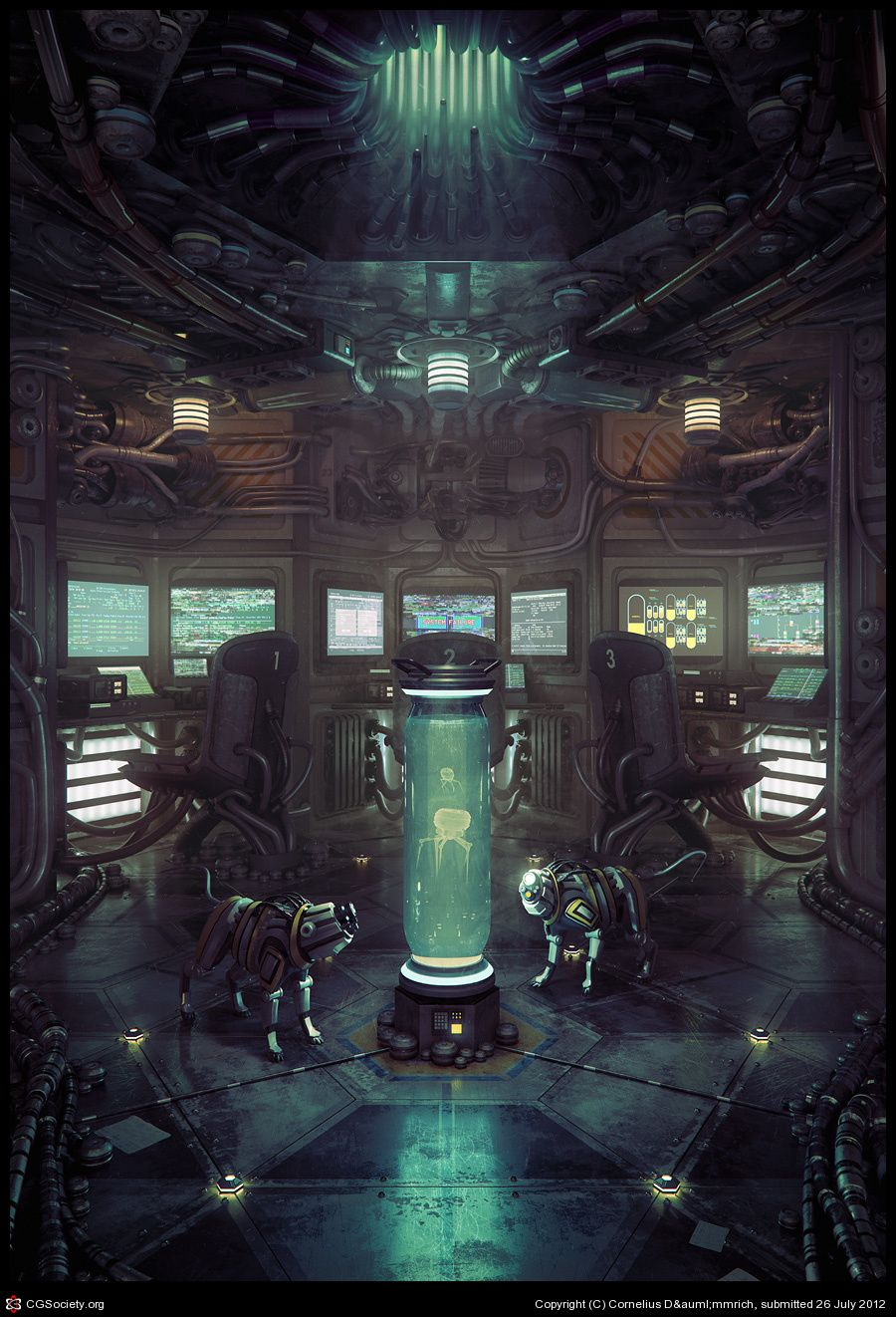 Laboratory Room Design: Http://features.cgsociety.org/newgallerycrits/g11/285211