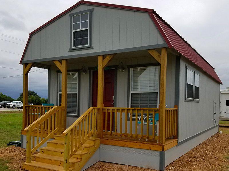Cabins Enterprise Supercenter In 2020 Lofted Barn Cabin Portable Buildings Cabin