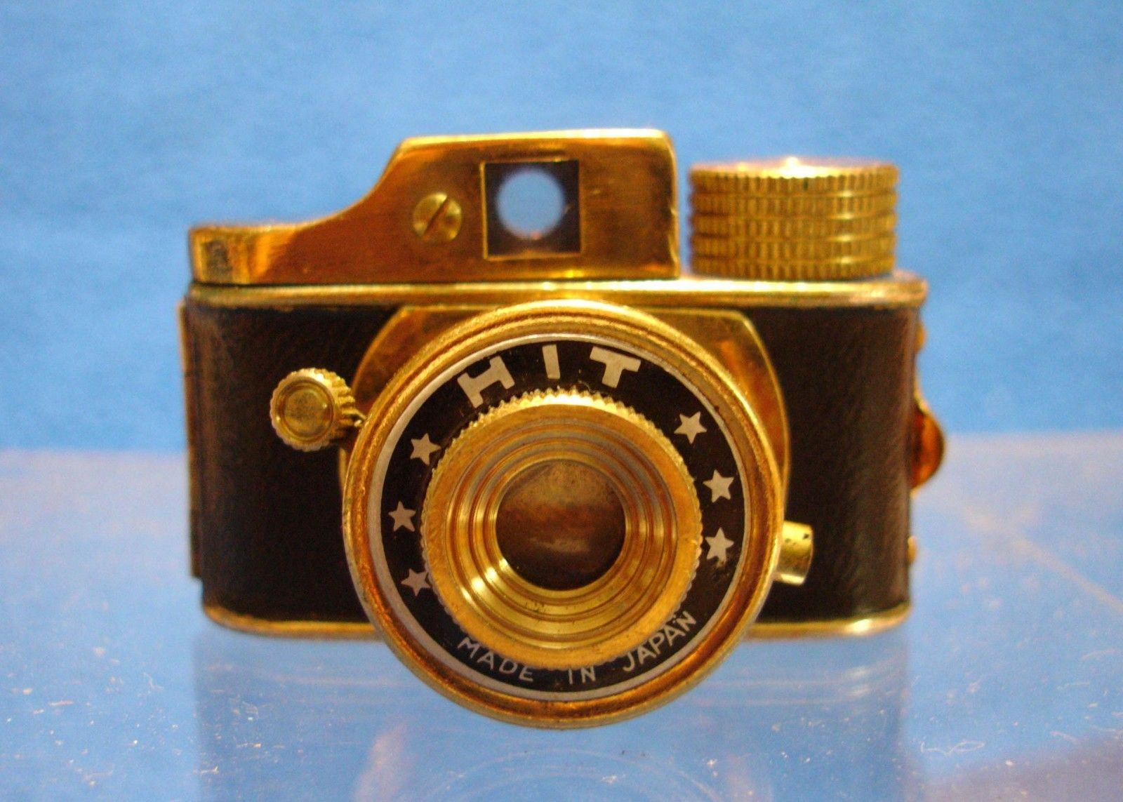Hit Subminiature 16mm Camera Gold Vintage 1950s Japanese Spy Camera
