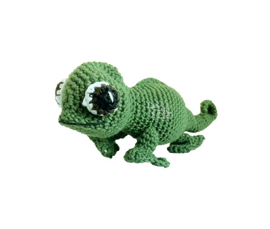 camaleon en español | patrones ganchillo | Pinterest | En español ...