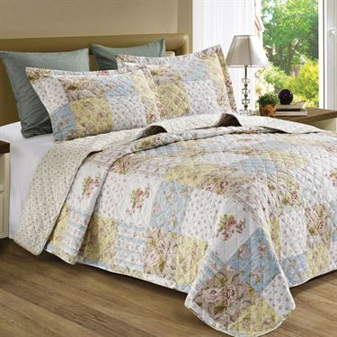 Rory Floral Quilt Set