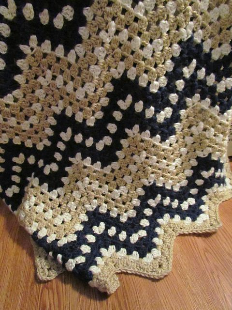 Easy] Ripple Waves Baby Blanket Crochet Pattern
