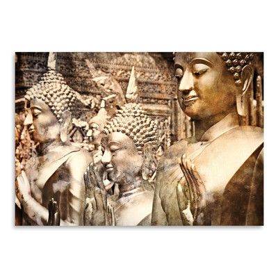 East Urban Home 'Buddha Thailand' by Golie Miamee Photographic Print Size: