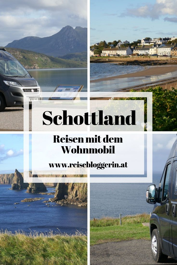 Campen Schottland – Mit dem Wohnmobil auf Reisen  Schottland