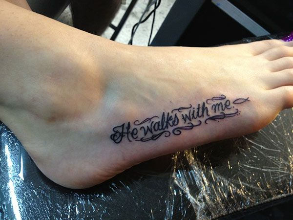 db4c4aff0 constant reminder 25 Refined Foot Tattoos Quotes | Tattoo | Tattoos ...