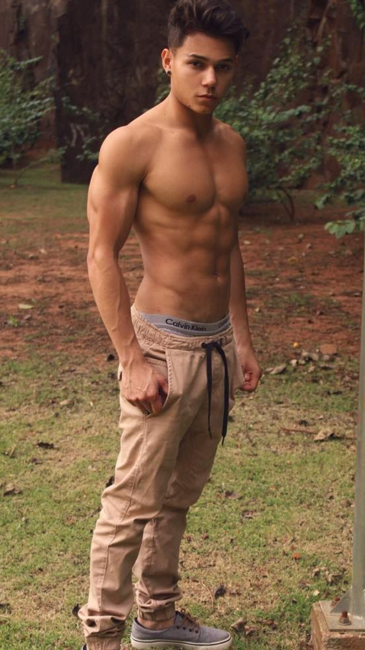 Shirtless guy gay hot