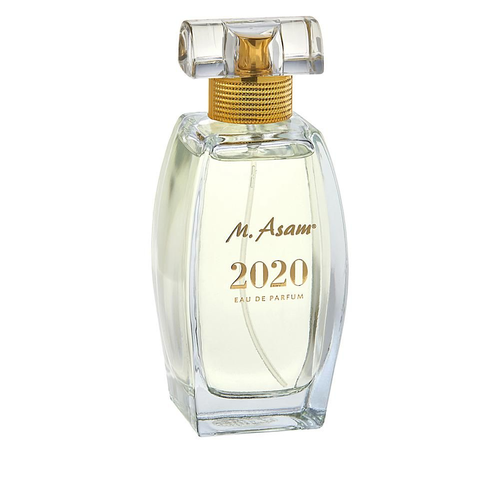 M. Asam 3.38 fl. oz. 2020 Eau de Parfum What It Is A timeless, elegant women's eau de parfum with a warm, flowery blend that evokes a magical, romantic feeling throughout the day. What You Get 3.38 fl. oz. M. Asam 2020 Eau de Parfum What It Does Enjoy the elegant, warm, feminine fragrance with floral and fruity accents and woody chords Enchant your day with this sophisticated, timeless fragrance for everyday use Revive your senses and improve your day with this warm, feminine blend The sparkling