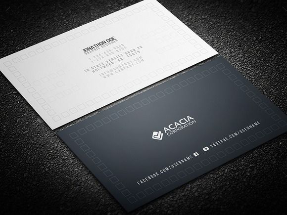 Space business card business cards business and fonts space business card reheart Image collections
