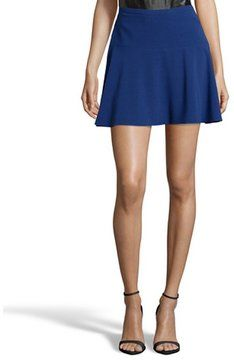 need this right meow! -- BCBGMAXAZRIA royal blue strecth 'Lucy' a-line mini skirt  -- http://www.hagglekat.com/bcbgmaxazria-royal-blue-strecth-lucy-a-line-mini-skirt/
