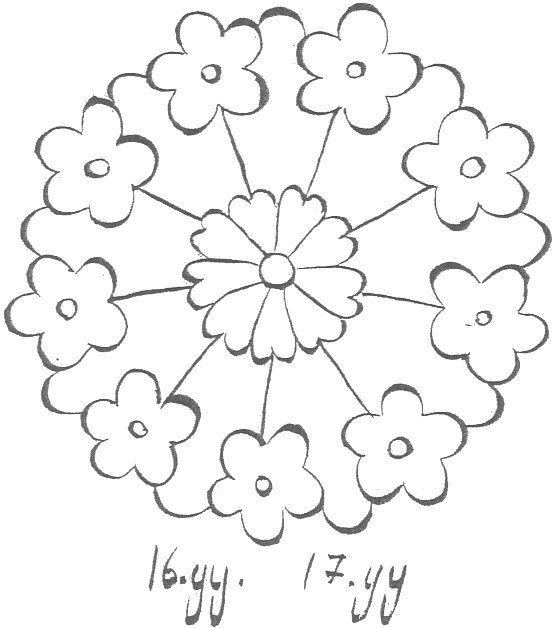 Bilana Ciftci Adli Kullanicinin Desen Hatai Panosundaki Pin Desenler Sanat Cicekler Aplike Parca Ortuler