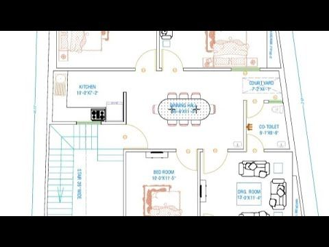 32x47 House Plan East Facing 3BHK with Parking