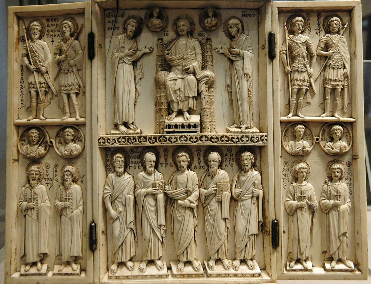 A Carver S Commission Arte Bizantina Arte Renascentista