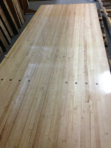 Bowling Alley Lane Wood Sections Maple And Pine Make Table Desk Counters Home Bowling Alley Bowling Alley Table Conference Table