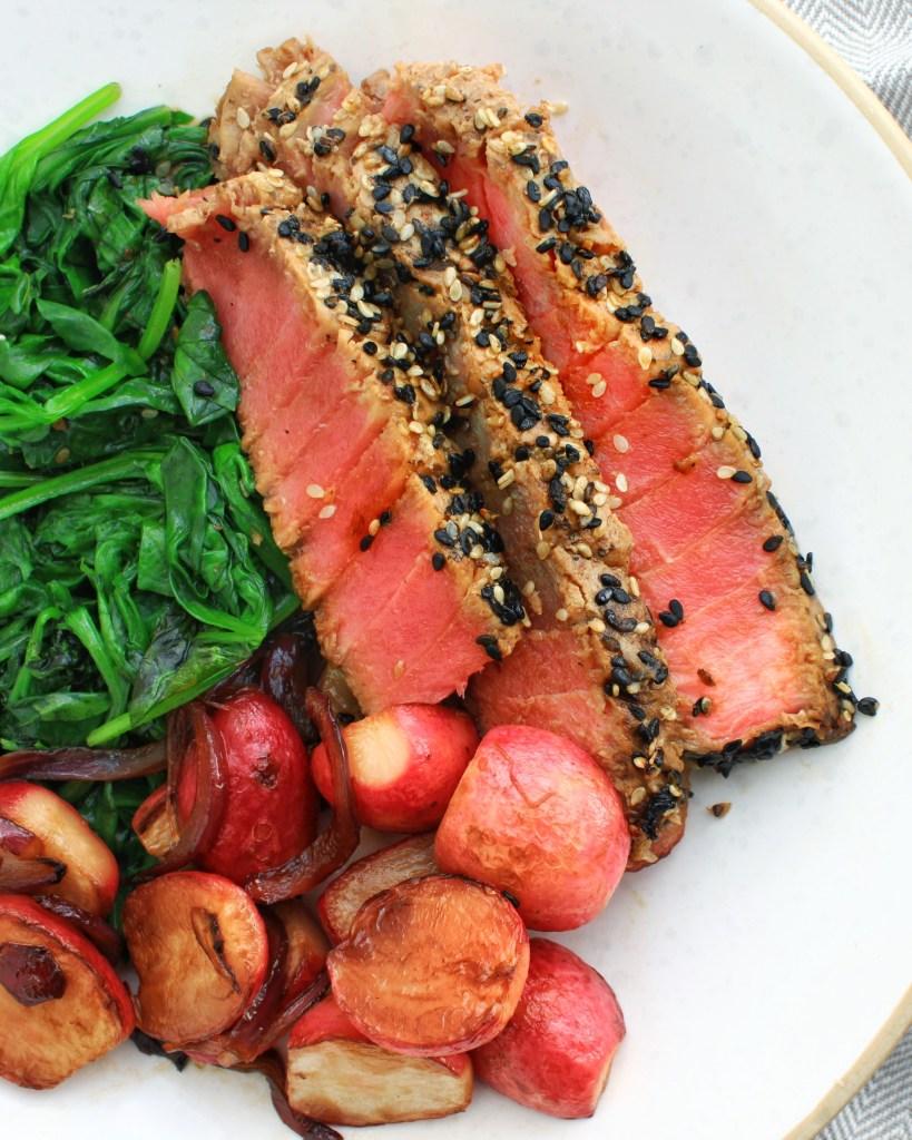 Meat & Fish | Sesame crusted tuna, Gluten free asian ...