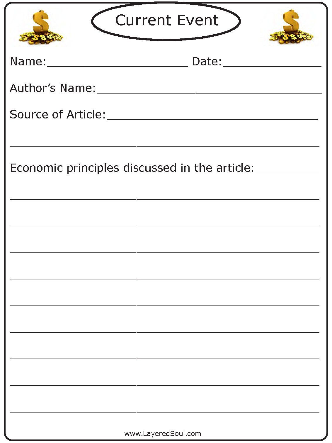 High School Economics Worksheets Credit Card Lesson Plan