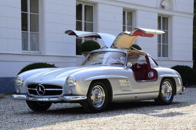 When i feel classic :) Mercedes 300SL