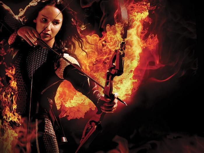 Brand new promotional images of Katniss Everdeen from Variety Magazine