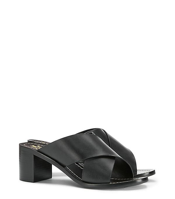 Fashion · Tory Burch Montrose Leather Mule