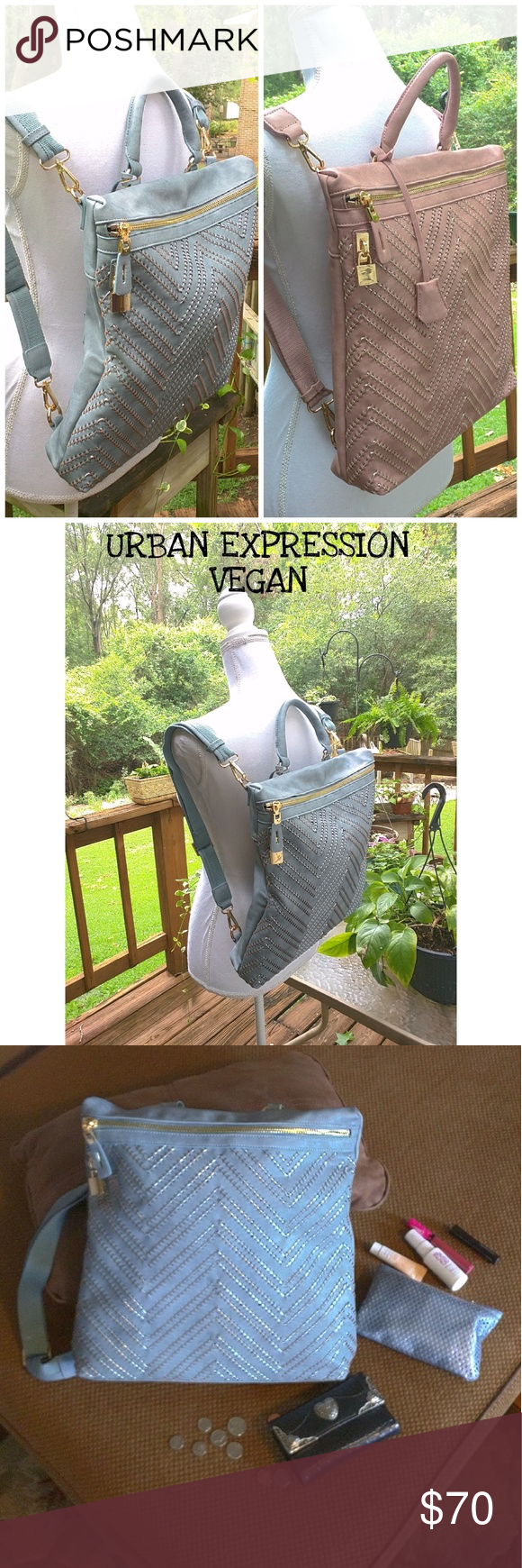 Urban Expressions Bag (No Bundling) Your Choices Available (One Blush Or  One Denim